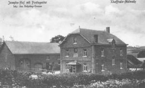 Xhoffraix poste 1918